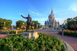 Disneyworld, Magic Kingdom, Cinderella's Castle
