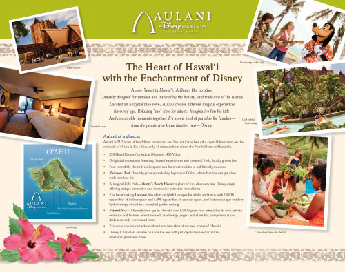 aulani fact sheet