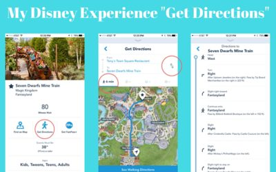 "New ""Get Directions"" Feature on My Disney Experience App"