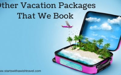 Vacation Packages That We Book