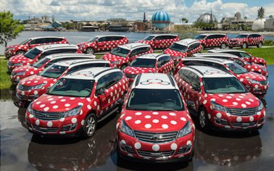 Minnie Van Ride Service at Walt Disney World