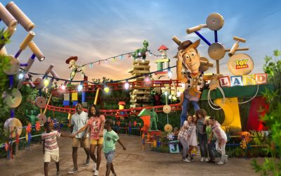 Toy Story Land is Open