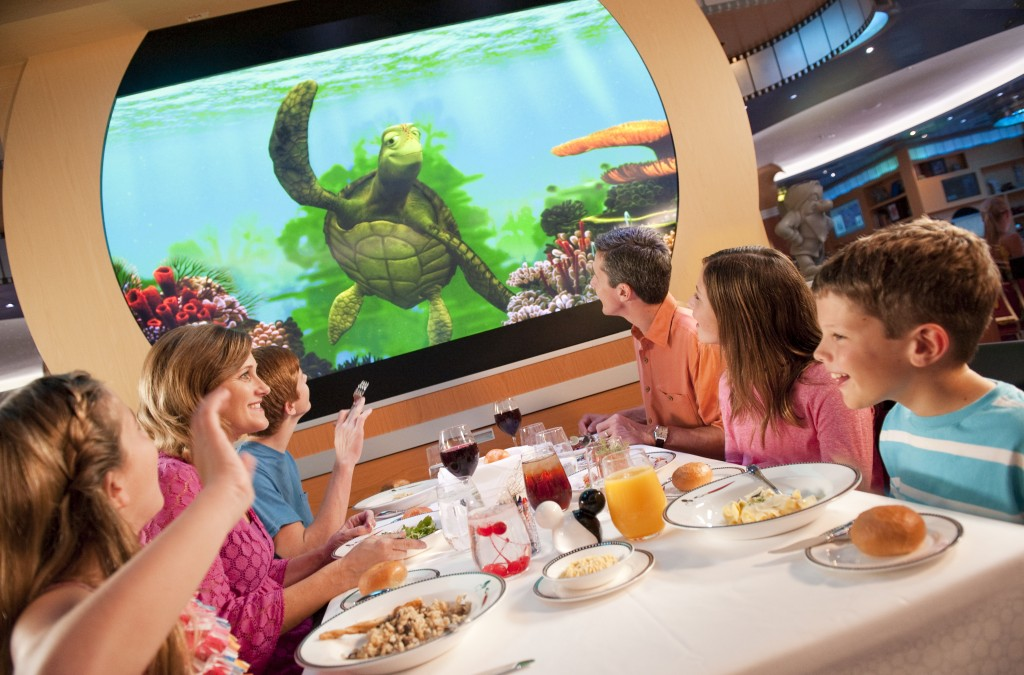 Disney Cruise Line Rotational Dining