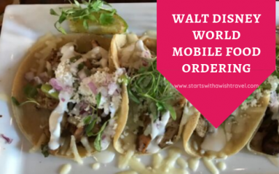Disney World Mobile Food Ordering