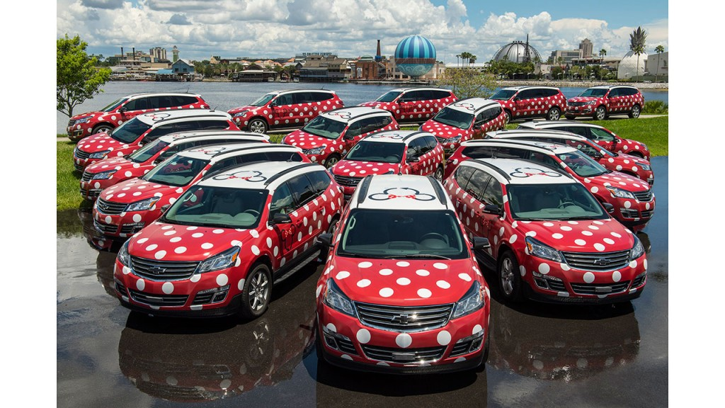 Disney Minnie Vans Now a Vacation Package Add-On