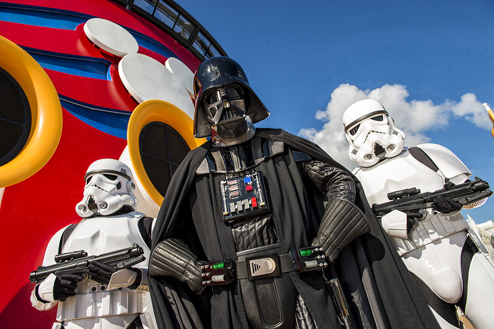 Disney Cruise Star Wars Day at Sea 2021